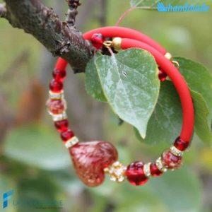 Valentino Rosso – Bracciale in vetro di Murano - BRAC0042