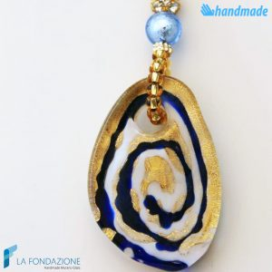 Collana Stone Luxury in vetro di Murano - COLL0073