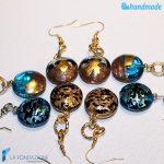 Orecchini Mezzaluna in vetro di Murano – EARRINGSC0019