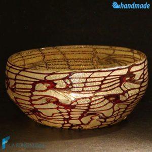 Bowl Reticolo Svuotatasche in vetro di Murano - BOWL0001
