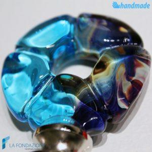 Flower bottle cap made in Murano glass - CAPS0001