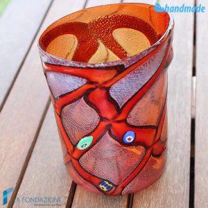 Goto Rouge in vetro di Murano - GOTI0026