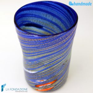 Goto Tornado Blu in vetro di Murano - GOTI0033