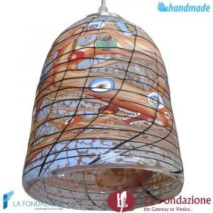 Lampada Goto Arcipelago in vetro di Murano - LAMPGOTI001