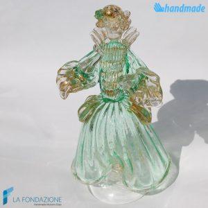 Dama veneziana in vetro di Murano - SCUL004