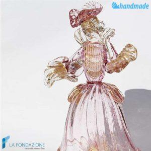 Duchessa Veneziana in vetro di Murano - SCUL007