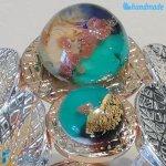 Bracciale maxi bolle oyster in vetro di Murano – BRAC0063