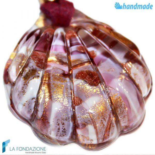 Pendente Conchiglia in vetro di Murano - PEND0041