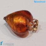 Set 4 Cuori Soleado con foglia oro in vetro di Murano – La Fondazione – PERLA017