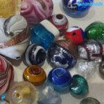Set 100 Perle colori e forme misti – La Fondazione snc – PERLA024