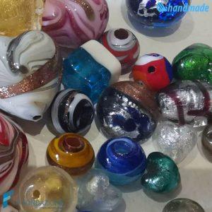 Set 100 Perle colori e forme misti - La Fondazione snc - PERLA024