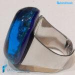 Anello Smeraldo Blu con avventurina – La Fondazione – RINGS0138
