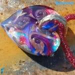 Parure Cuore Chakra Manipura con collana e anello – La Fondazione snc – PARU0054