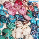 Perle Fenicio con avventurina in vetro di Murano – La Fondazione snc – PERLA040